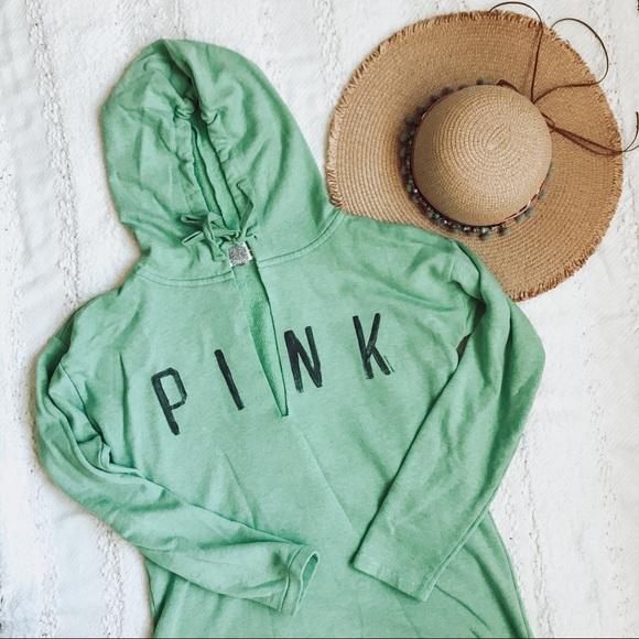 PINK Victoria's Secret Tops - PINK hoodie sweatshirt